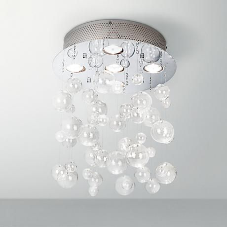 Possini euro lilypad 30 wide etched glass bath light lamparas possini euro lilypad etched 30 wide bath light fixture 10574 lamps plus aloadofball Image collections