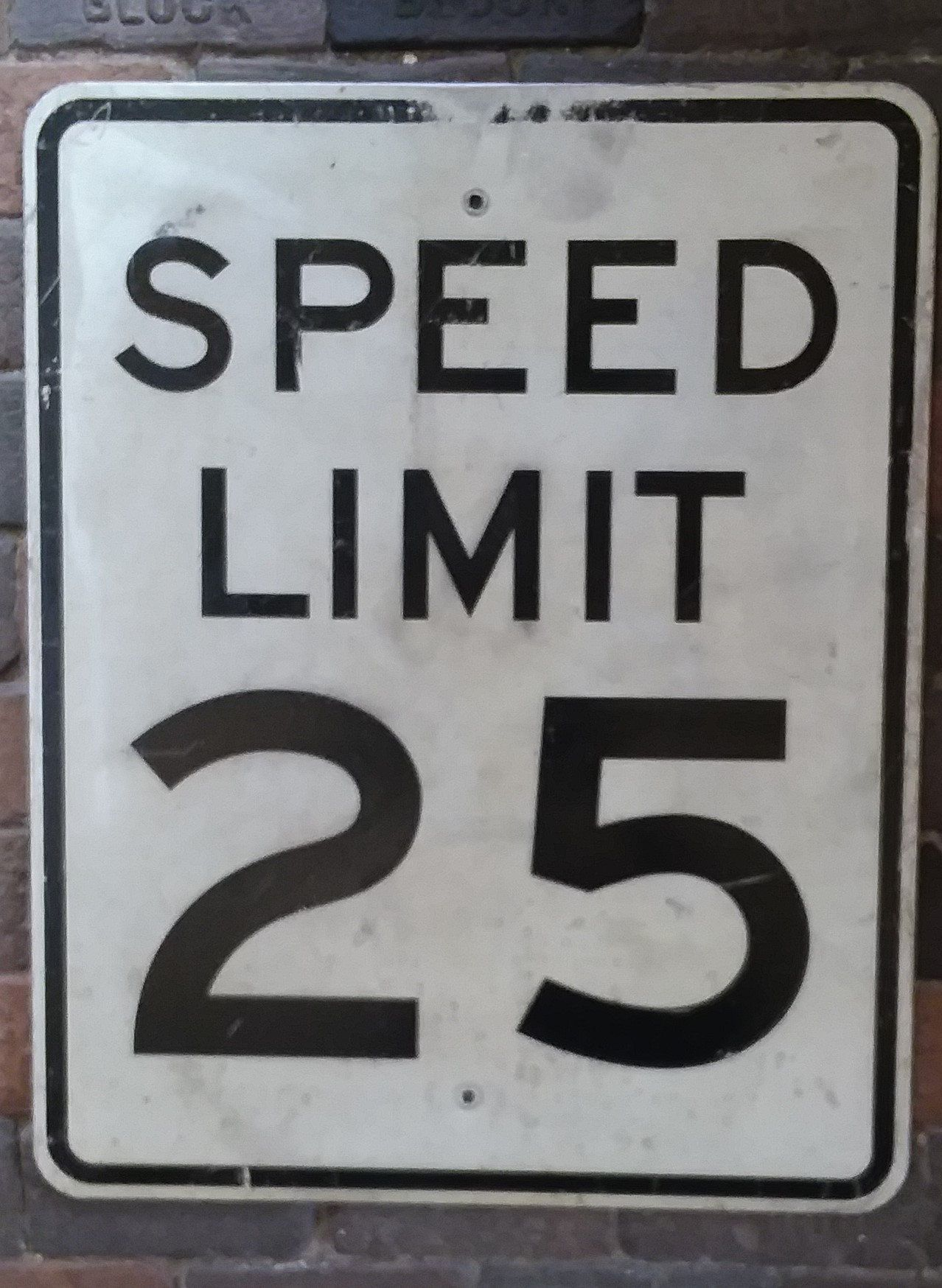 miles per hour SPEED LIMIT  20 MPH road and street signs shop decor gargae