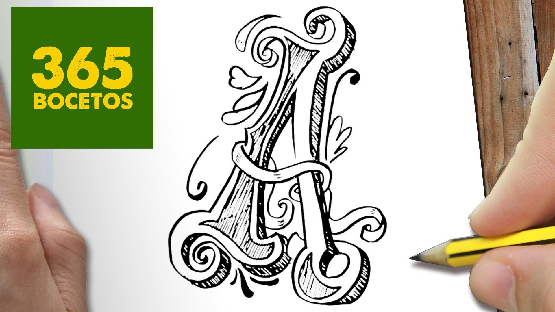 Como Dibujar Letra A Paso A Paso Dibujos Kawaii Faciles How To Draw A Dibujando Letras Dibujos Kawaii Dibujo Paso A Paso