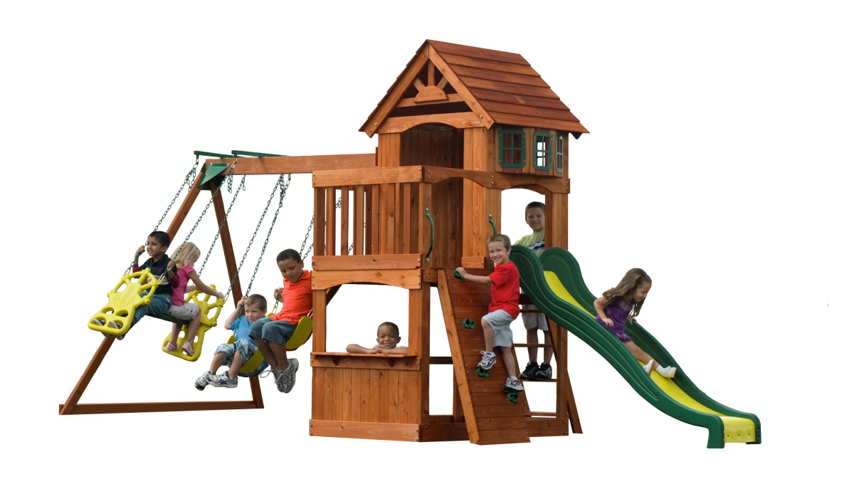 learn more about the atlantis wooden playset this backyard