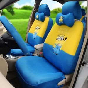 ON SALE Despicable Me Minions Car Seat Covers