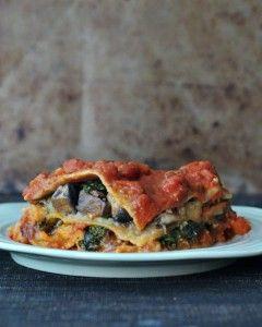 Hearty Portobello Kale Lasagna @spabettie