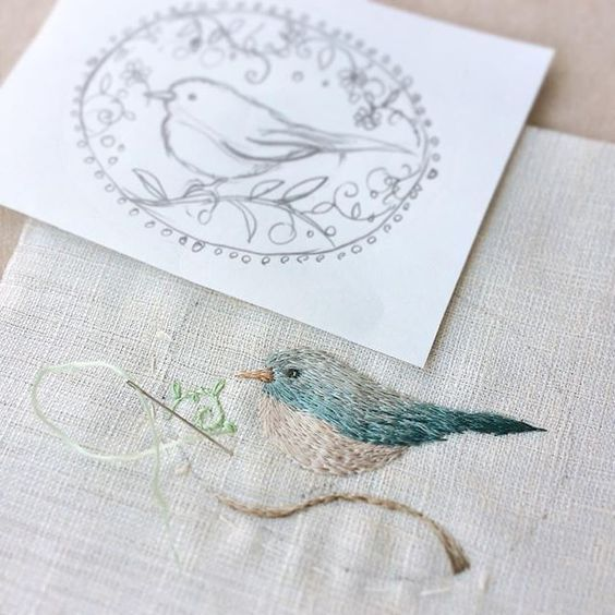 You, Me, and Embroidery : Photo