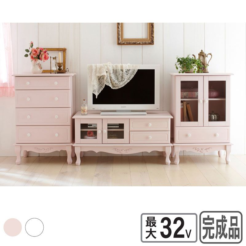 Rose Accent Handles Furniture Set http://www.seikatsuzacca.com/product/PD44599/index.html