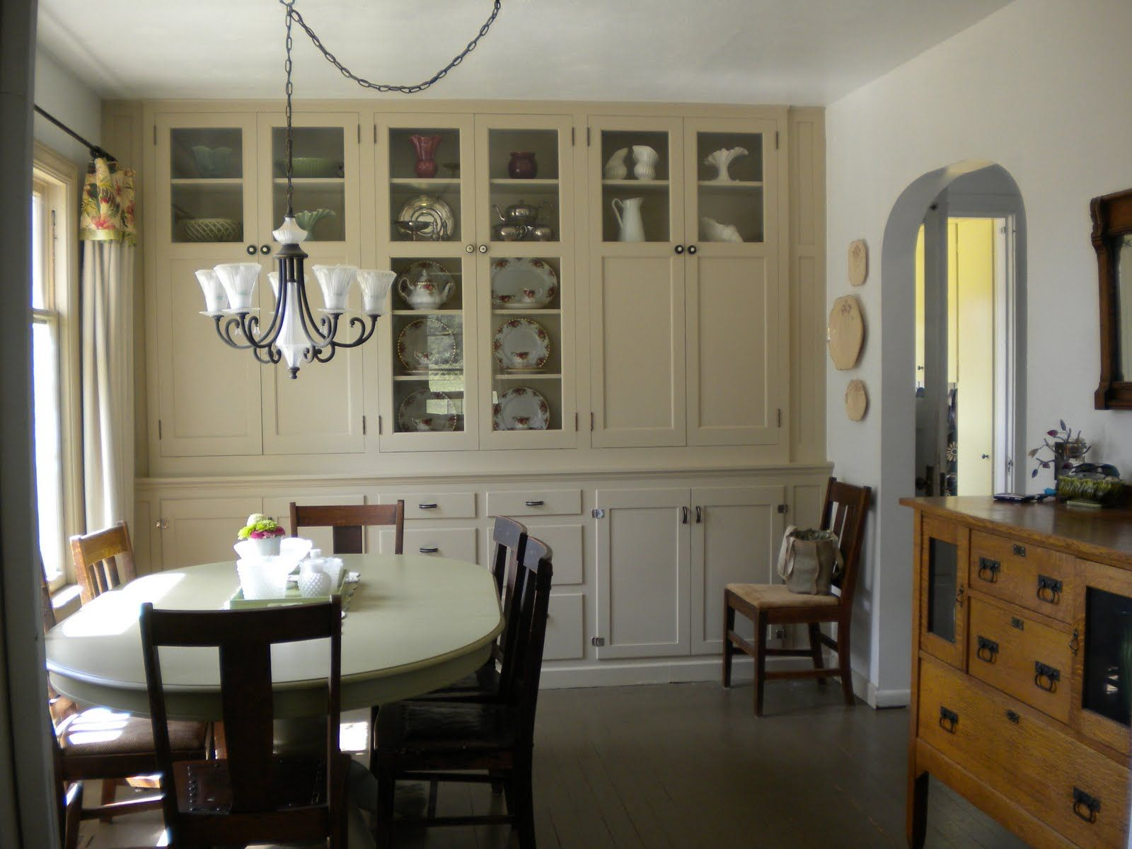 Built In Cabinets Dining Room