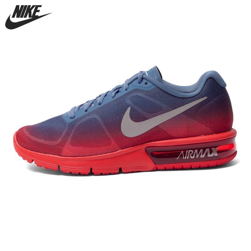 Asli baru kedatangan sekuen nike air max pria menjalankan sepatu low top  sneakers ad91b573d2