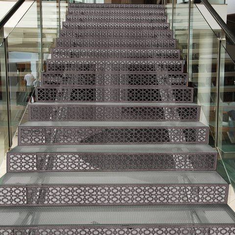 Best Stair Risers Treads In 2020 Perforated Metal Stair 400 x 300