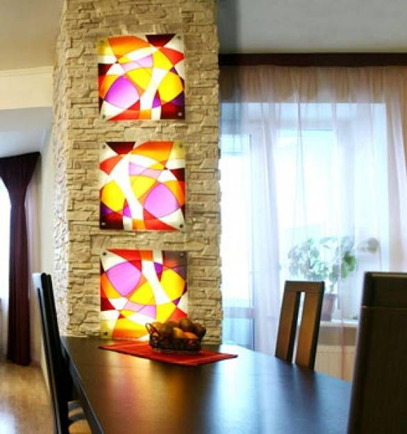 Stained Glass Painting Ideas Bringing Spectacular Colors Into Modern  Interior Design Part 17