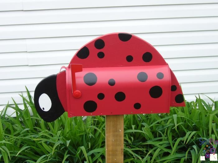 $153 : Ladybird mailbox