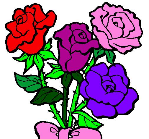Desenhos De Flores Coloridas Para Imprimir Desenhos De Flores