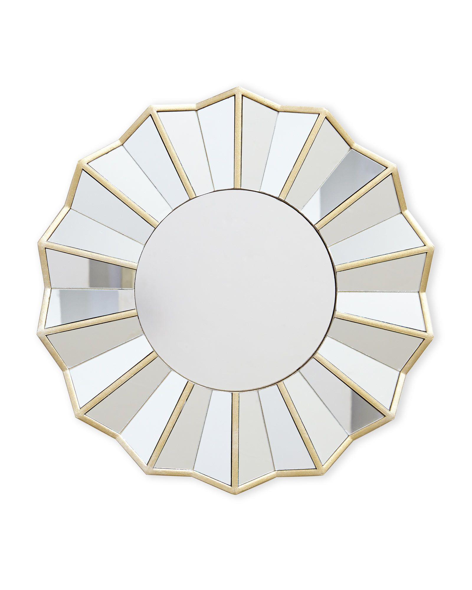 Parisian Home 14 X Decorative Multi Panel Mirror Accent