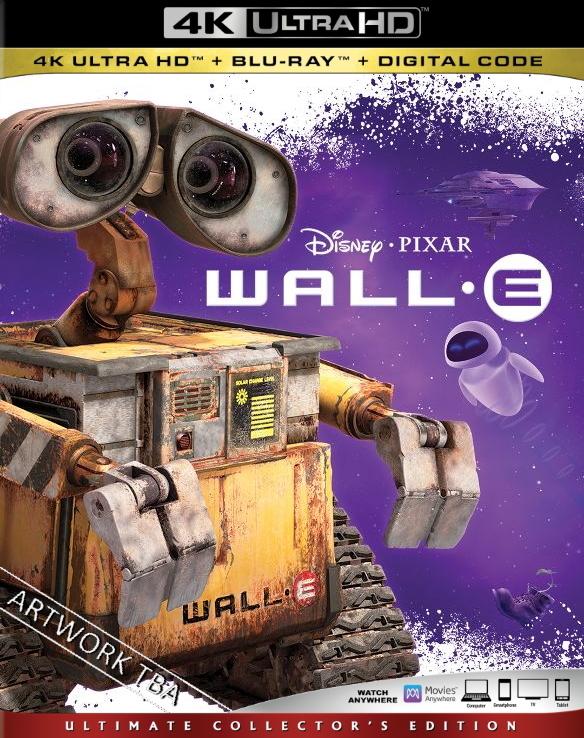 WALLE 4K Bluray Release Date March 3, 2020 (4K Ultra HD