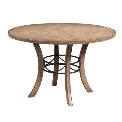 Hillsdale Furniture 4670DTBW Charleston Wood Round Dining Table