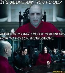 Wednesday Severus?