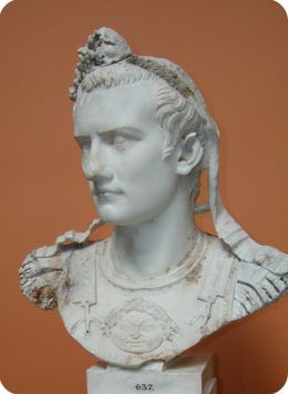 January 24, 41 – Roman Emperor Caligula assassinated by his Praetorian Guards for jealousy of power