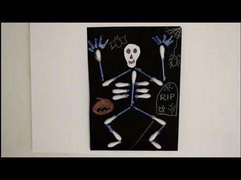 diy halloween special einladungskarten skelett aus. Black Bedroom Furniture Sets. Home Design Ideas