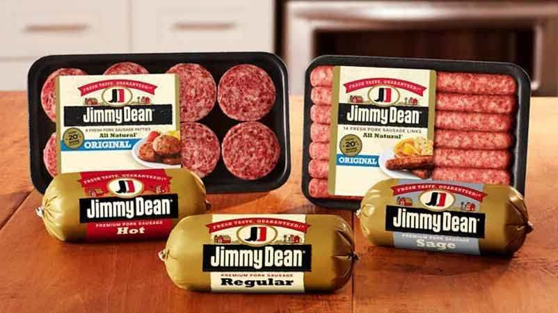 Jimmy dean sausages canned corn and more check your
