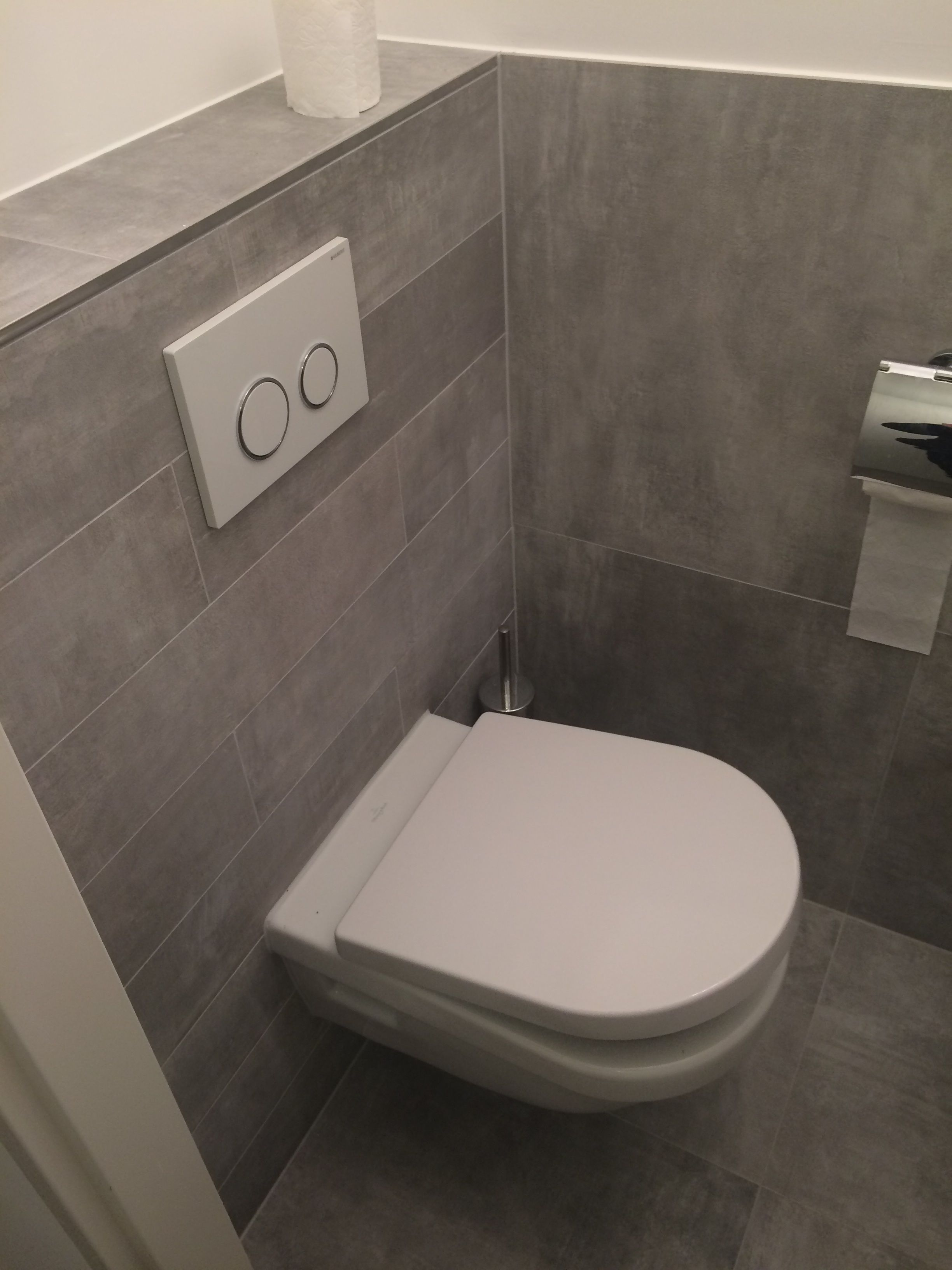 Betonlook Tegels Unicom Starker Icon Dove Grey Toilet Pinterest - Kleine toilette fliesen