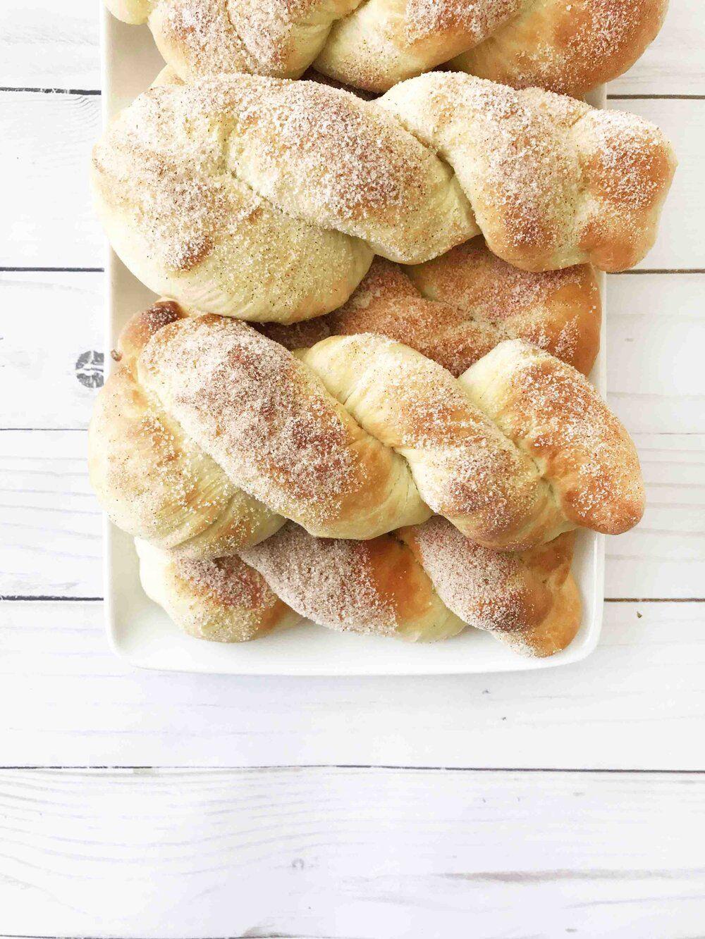 Cinnamon Sugar Donut Twists (AirFryer) — The Skinny Fork