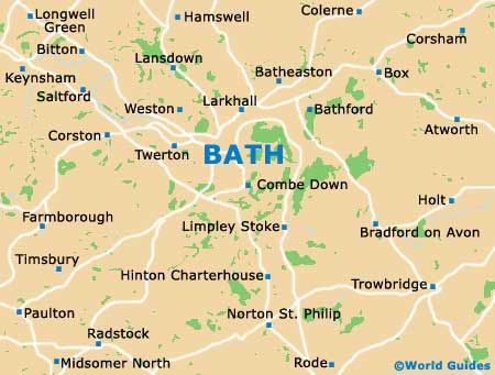Bath city centre is extremely well pedestrianised with most