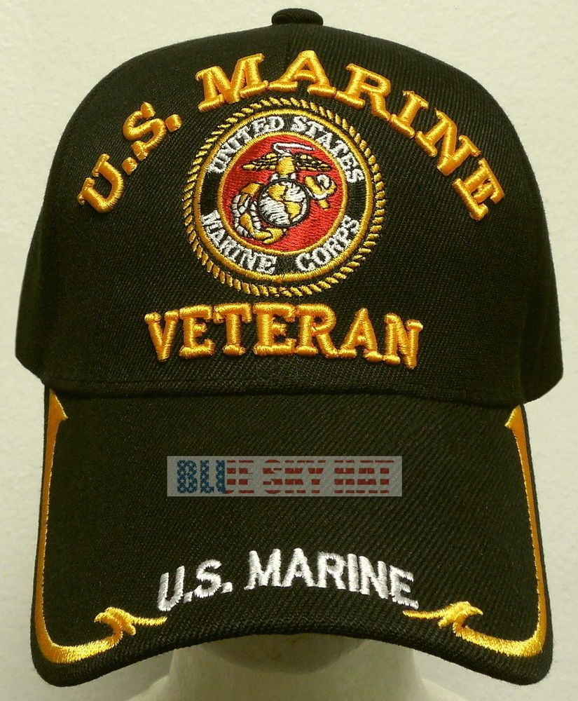 "United States Marine Corps /""Semper Fi/"" red trim on the bill Military Cap"