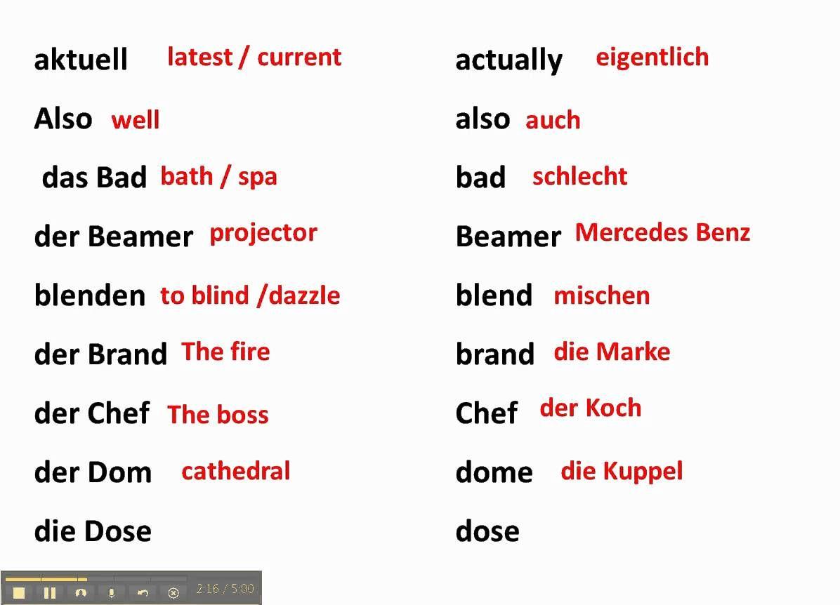 list of false cognates english spanish pdf