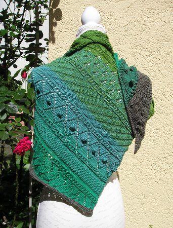 Photo of Dreieckstuch stricken // grün und wunderbar