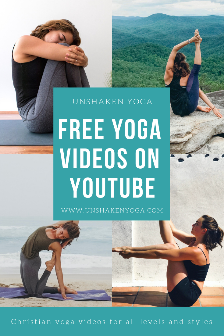 Unshaken Yoga is a YouTube channel with free yoga videos for