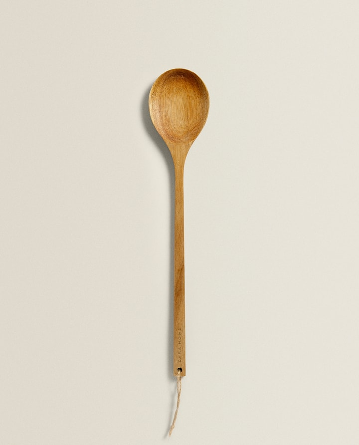 Image Of The Product Wooden Spoon Zara Home Wooden Spoons Spoon
