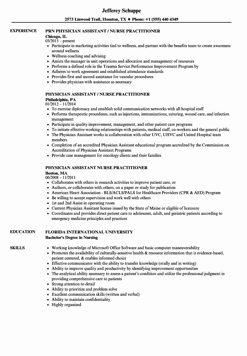 23 Nurse Practitioner Resume Examples In 2020 Family Nurse