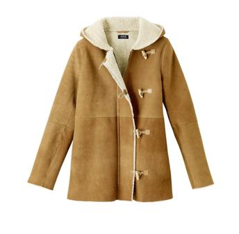 7ecc74e58c14 Manteau en peau lainée A.P.C. 1 850 €