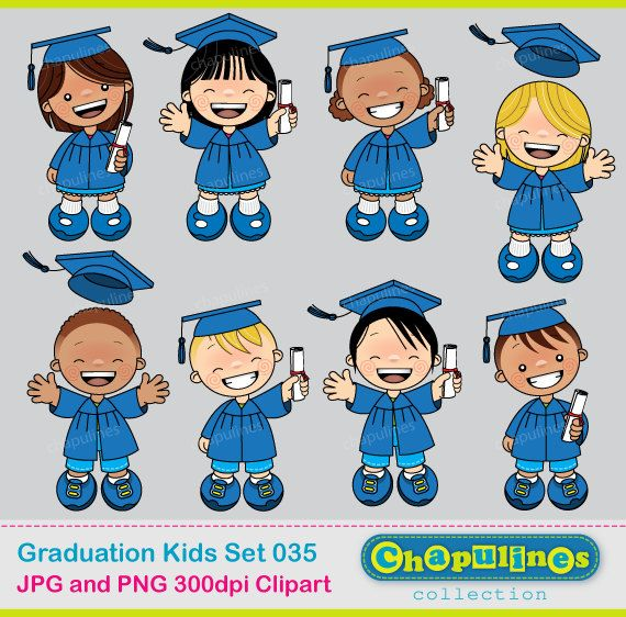 60% desc. Clipart de graduación, clipart escuela Niños Graduación ...