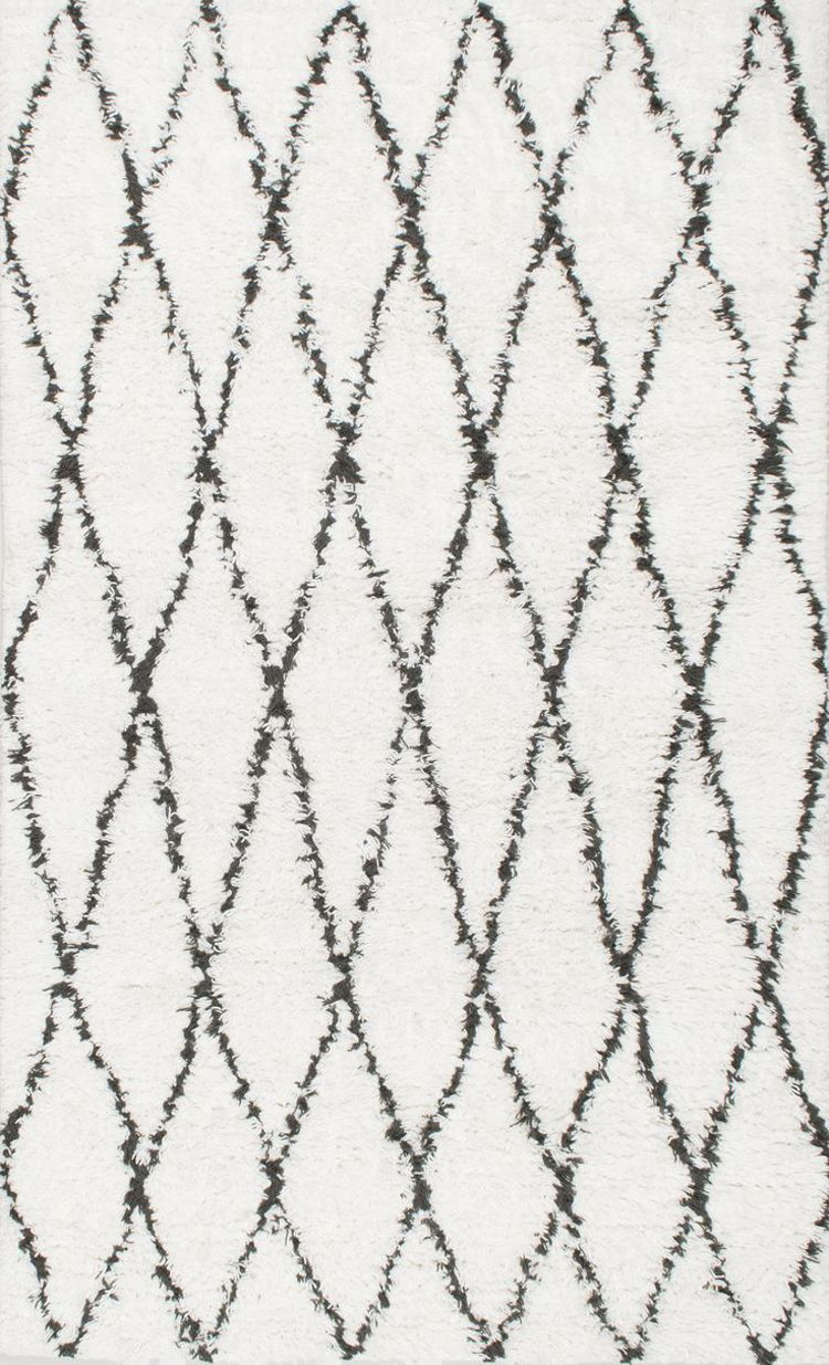 Thereu0027s Nothing Quite Like Arranging Brand New Black And White Moroccan Rug  In Your Living Room, Family Room Or A Different