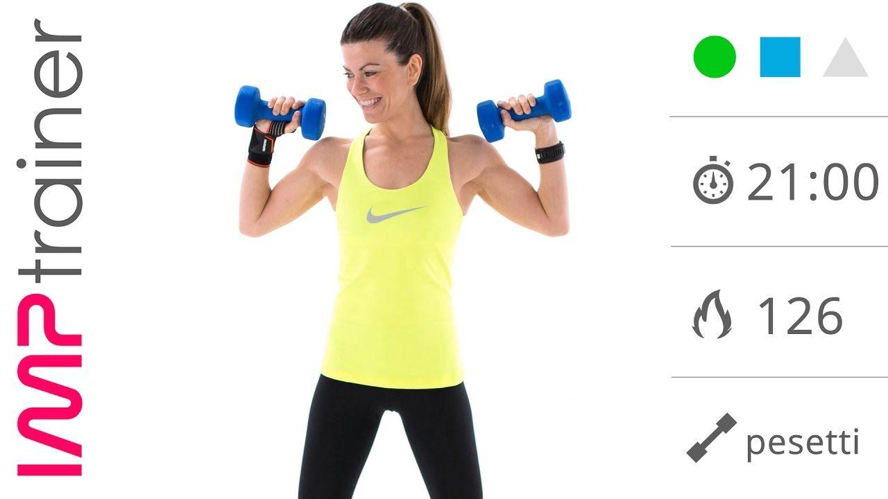 esercizi per assottigliare le braccia in palestra