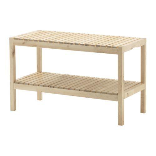 MOLGER Bench - Birch - IKEA --> For The Bathroom
