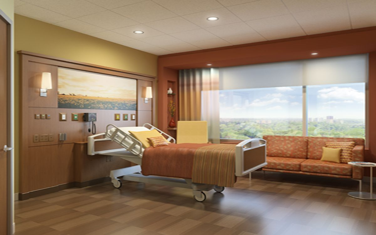 Hospital Lighting Design Hospital Patient Rooms Places
