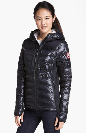 3b5707b3b3c Canada Goose 'Hybridge Lite' Slim Fit Hooded Packable Down Jacket (Online  Only) available at #Nordstrom