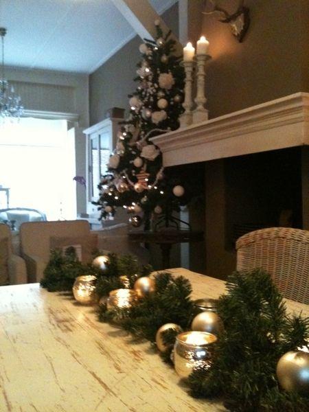 kerst inrichting woonkamer - Google zoeken | kerst ideeen ...