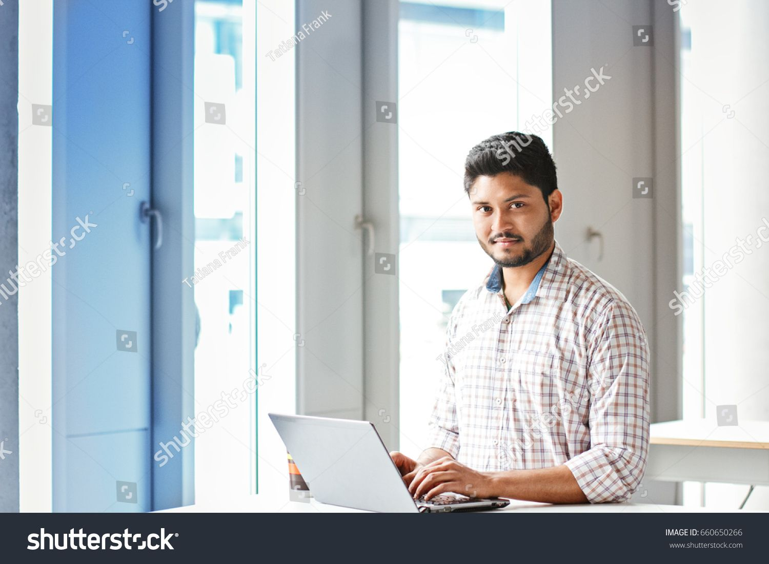 Indian Businessman Working On Laptop Indoors Sponsored Businessman Indian Working Indoors Business Man New Pictures Model Release