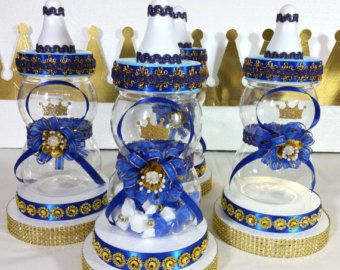 royal prince baby shower candy buffet by