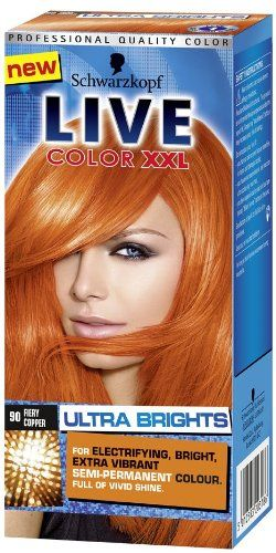 Live Color Xxl 90 Fiery Copper Ultra Brights Details Can Be