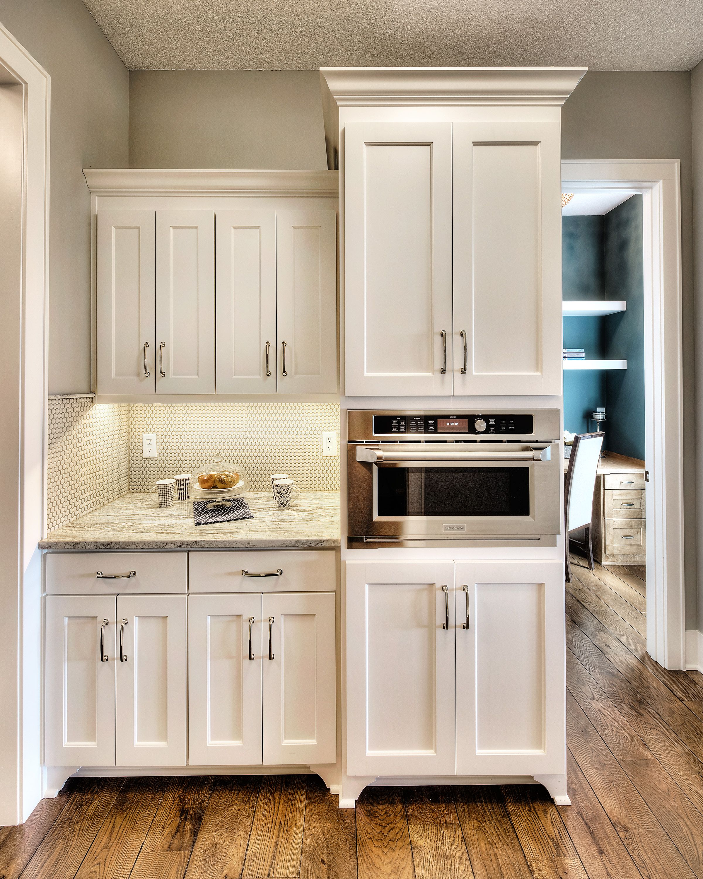 Best Kitchen Prep Area White Cabinets Butlers Pantry Custom 400 x 300