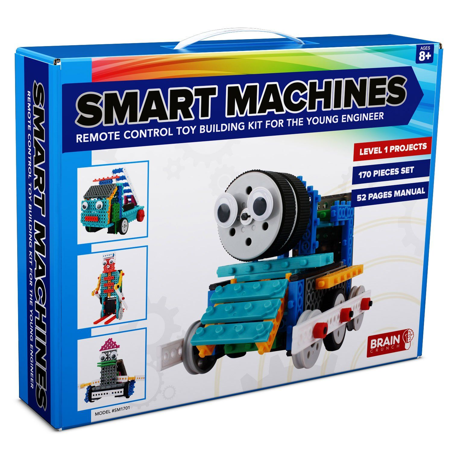 4 in 1 Robot Kit for Kids and Adults Make and Control Your Own