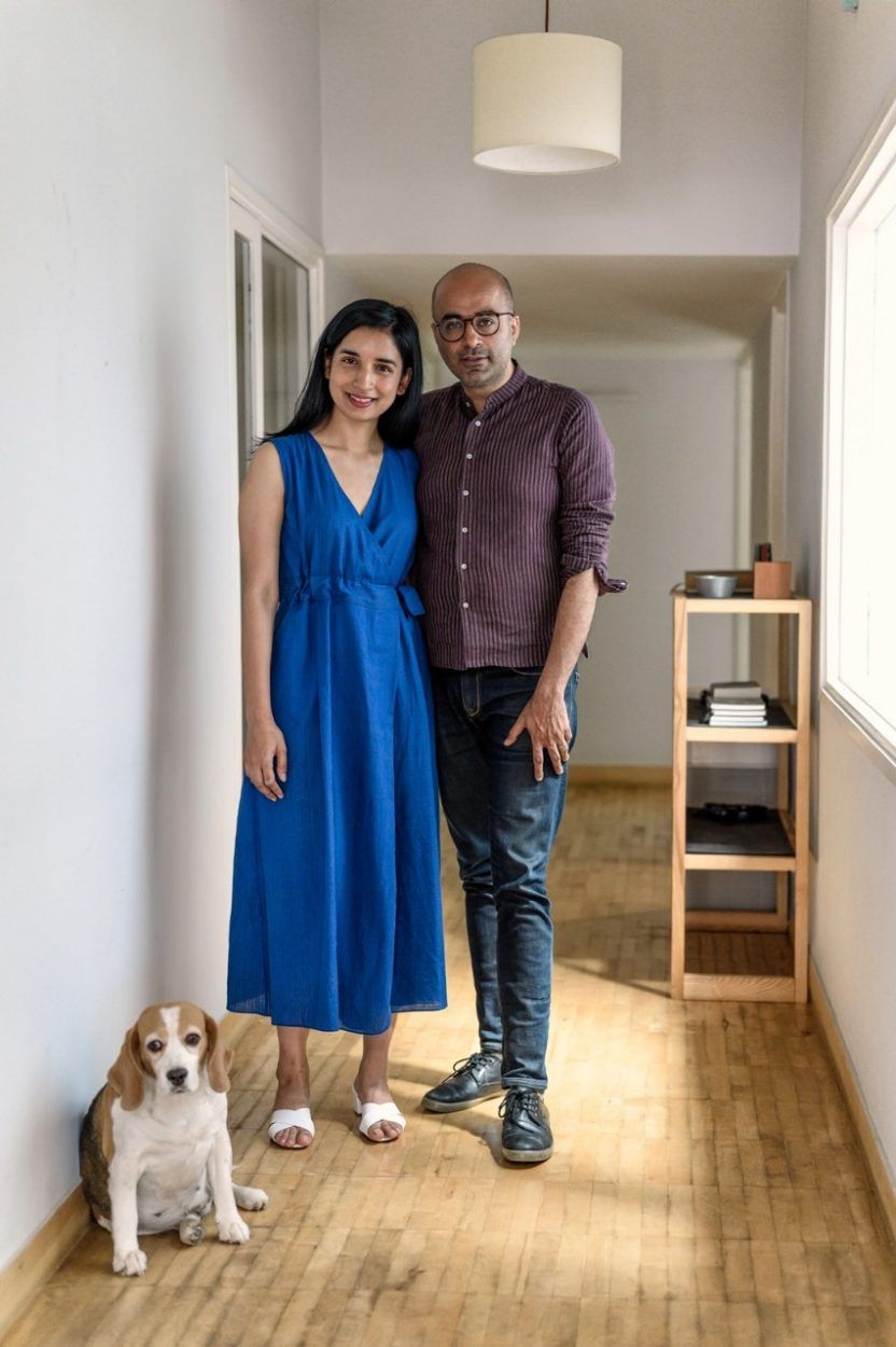 New Delhi Based Architect Saurabh Dakshini Founder Of Multidisciplinary Firm Studio Organon And His Wife Medha Khosla Who Is The Live Light Fashion Design