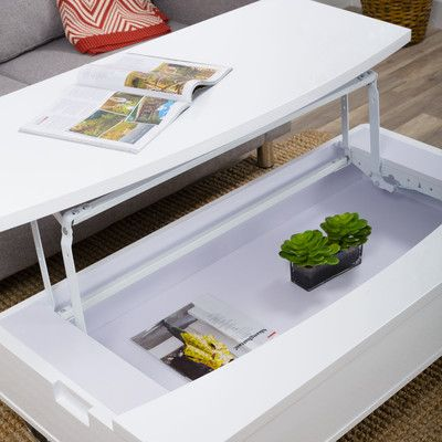 Matrix Coffee Table with Lift Top