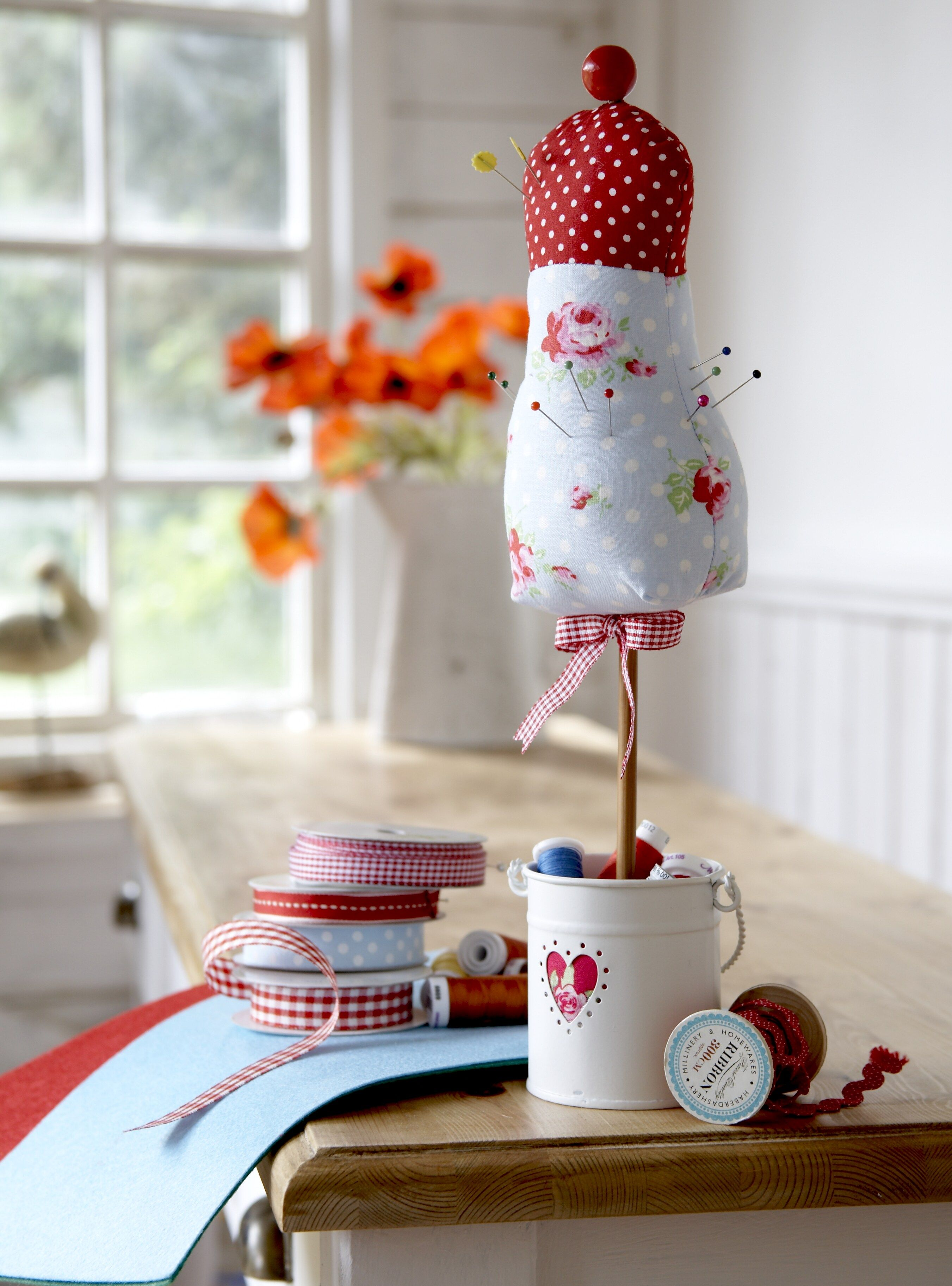 Mannequin Pin Cushion pattern and instructions available at: http ...