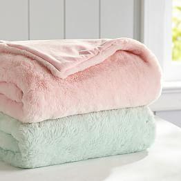 Pink Decor Pink Dog Blanket Pink Throw Blanket Soft Blanket Fleece Blanket Pink Blanket Pink Room Decor Dog Lover Gift Dorm Gift