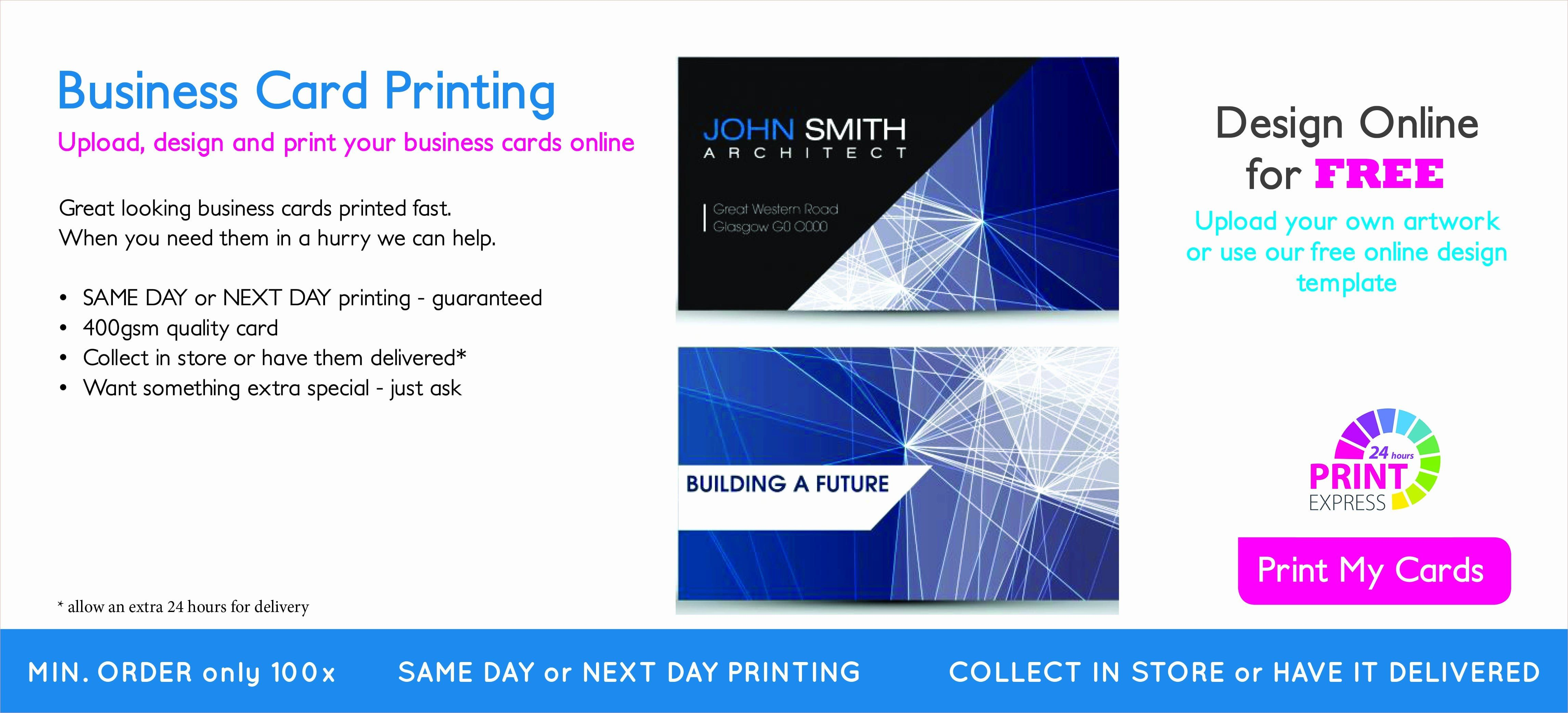 Overnight Prints Business Card Template Printing Business Cards Business Card Template Free Printable Business Cards