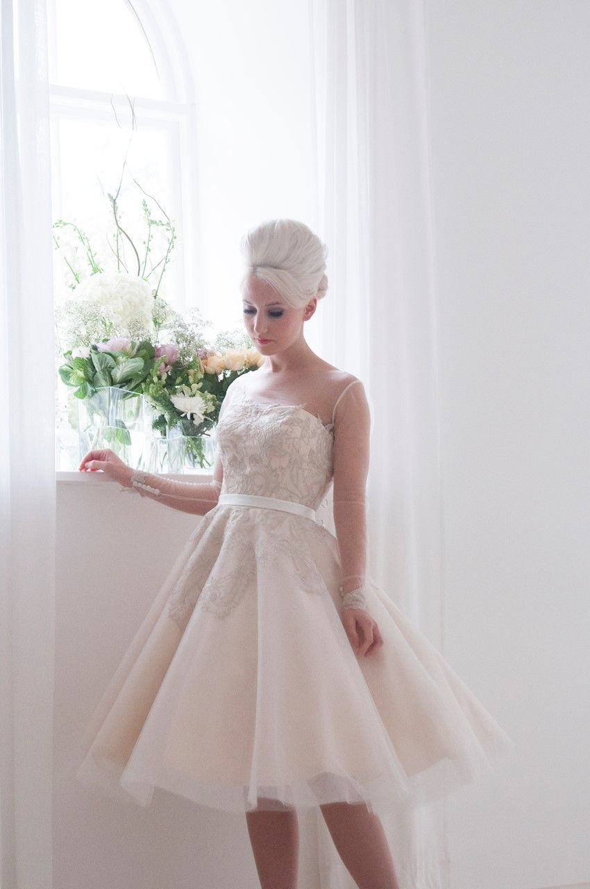 1950s style wedding dresses  The Fabulous  Bridal Collection from House of Mooshki  Tea