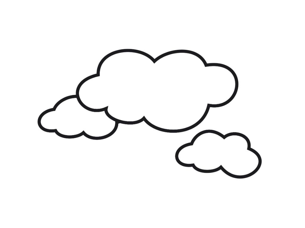 download cloud coloring pages preschool ideas pinterest